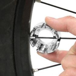 Cykel Spoke Key Wheel Rim Skruenøgle Spanner Repair Værktøj