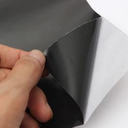 Schwarz Glass Film Self Adhesive Sticky Kunststoff Vinylfilm 45x100cm