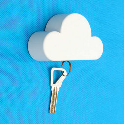 Creative Cloud-formede Magnetic Key Novelty Holder