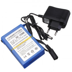 DC12V 3000mAh Lithium super nachladbare Portable Battery EU Stecker