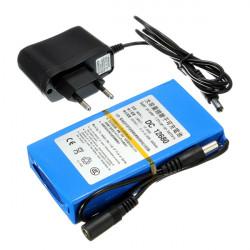 DC12V 6800mAh Super Rechargeable Portable Lithium Battery EU Plug
