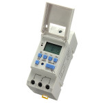DC 12V Din Rail LCD Programmable Timer Switch Time Relay Switch Industrial & Scientific