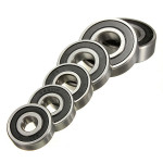 Sporkuglelejer 6200-6205 / 2RS High Speed Bearing Steel Industrial & Videnskab