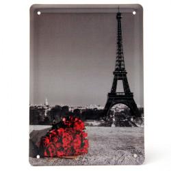 Eiffeltårnet Blikskilt Vintage Metal Plaque Blikskilt Bar Pub Hjem Vægudsmykning