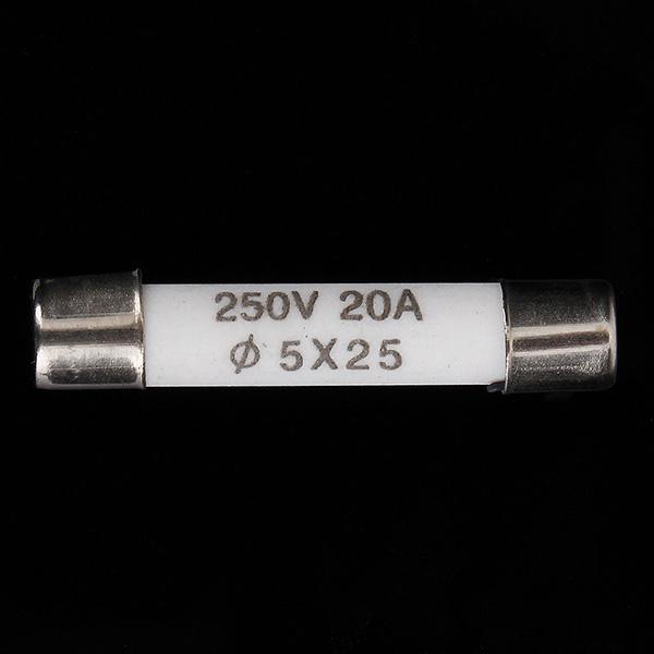 Elektrische Komponenten Keramikrohr Sicherung für die Mikrowelle 20A 250V Industriell & Wissenschaftlich