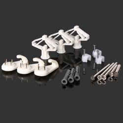 Expansion Schraubensatz Kunststoff Expansionsleitung mit selbstschneidenden Schrauben