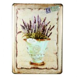 Flower Blikskilt Vintage Pub Vægudsmykning Thanksgiving Day Julegave