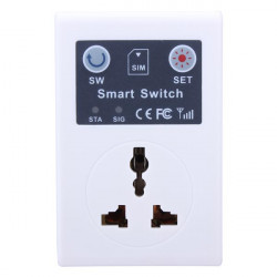 GSM Cell Phone Remote Control Switch Electric Wireless Smart Socket