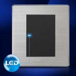 LED Wand Schalttafel ein Schalter Einzel  / Doppelsteuerung 250V 10A