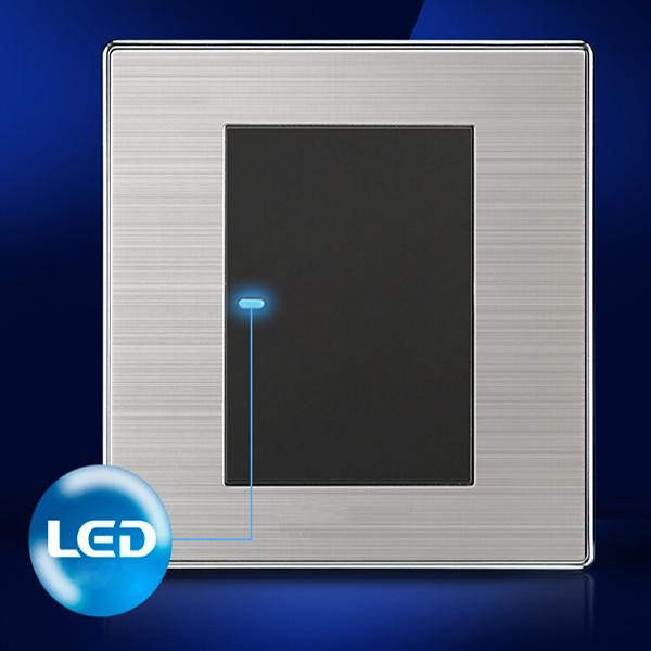 LED Wand Schalttafel ein Schalter Einzel  / Doppelsteuerung 250V 10A Industriell & Wissenschaftlich