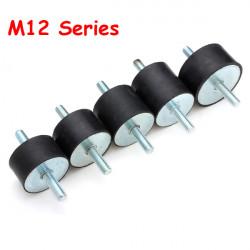 M12-serien Gummi Stötdämpare Gummi Skakisolator Fäste