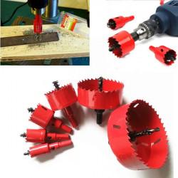 M42 HSS Bi Metal Carbide Tip Drill Hole Saw Metal Cutter from 16-70mm