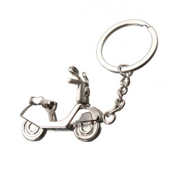 Metal 3D Electric Motor Car Keychain Accessary