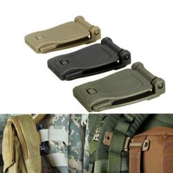 Molle taktischer Rucksack Bügel Material Anschluss Schnalle Clip