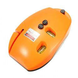 Mus Shape Linje Laser Level Instrument Leveller med Level Vial 5mW