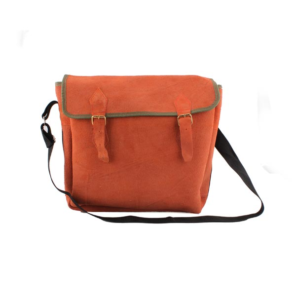 Multi-Function Pure Leather Tool Bag Electrician Maintenance Bag Industrial & Scientific