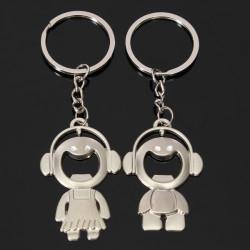 Musik Baby und Mädchen Paar Zeichen Flaschenöffner Schlüsselanhänger Schlüsselanhänger