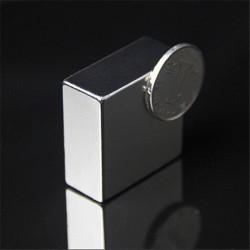 N50 Block Super Strong Rare Earth Neodym Magneter F40x40x20mm