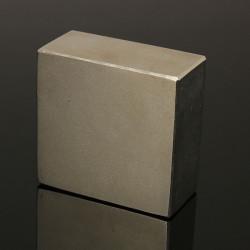 N50 Stark Block Cuboid Jordartsmetaller Neodymmagneter 50x50x25mm