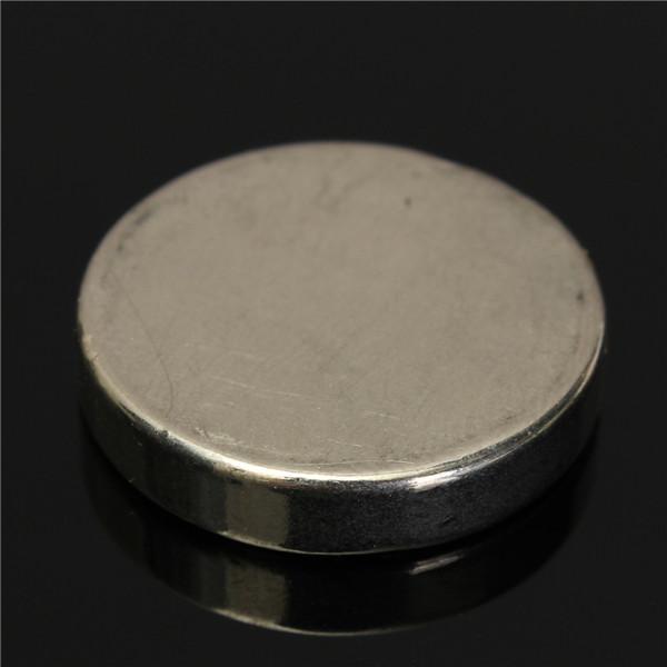 N52 25mm X 5mm Starka Rund Skiva Magneter Jordartsmetaller Neodymiummagnet Industri & Vetenskap