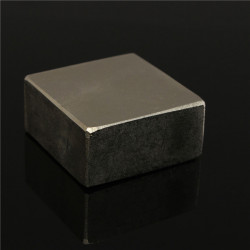 N52 50x50x25mm Block Magnet Super Strong Jordartsmetaller Neodymiummagnet