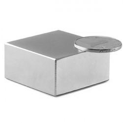 N52 Block Super Strong Rare Earth Neodym Magneter 40x40x20mm