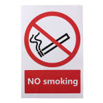 No Smoking Prohibition Sign Sticker 100*150mm Industrial & Scientific