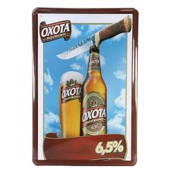 OXOTA Beer Blikskilt Vintage Metal Plaque Blikskilt Pub Bar Vægudsmykning