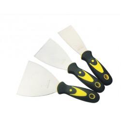 Putty Kniv 2/3 / 4inch Rostfritt Stål Blad Floor Scraper