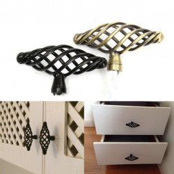 Retro Spiral Cage Design Furniture Drawer Pull Cabinet Handle Knob
