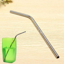 Reusable Stainless Steel Drinking Straw Cocktail Stirring Rod