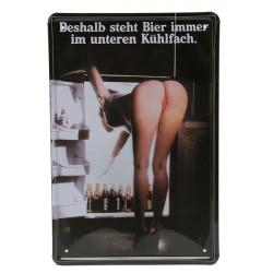 Sexy Girl Blechschild Jahrgang Metallplakette Poster Bar Pub Wand Dekor