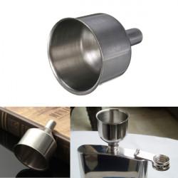 Rostfritt Stål Bell Stil Funnel Hopper för Flask Oil Vin Pot Filler