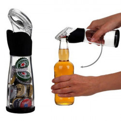 Opbevaring Beer Oplukkere med Cap Holder Catcher Collector Bar Tool