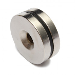 Strong Countersunk Magnets Hole 5mm Disc Rare Earth Neodymium