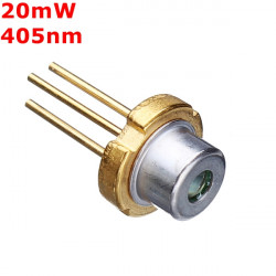 TO 18 20mW 405nm Violet Laser Diode Module Laser Generator