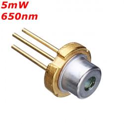 TIL 18 5mW 650nm Rød Laser Diode Modul Laser Generator