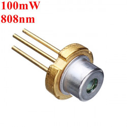 TO 18 808nm 100mW Infrared IR Laser Diode Laser Module Generator