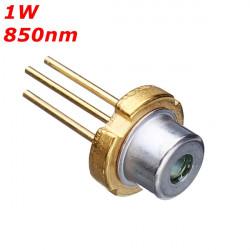 till 18 850nm 1000 mW Infraröd IR Laser Diod Laser Modul Generator