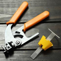 Tile Leveling System Construction Tools Caps/Straps/Plier