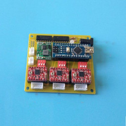 USB CNC 3 Axis Stepper Motor Driver Board Controller for DIY Lasergravering