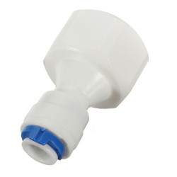 Water Filters Fitting 1/2 BSP x 1/4 Inch Push Fit Adapter Connector