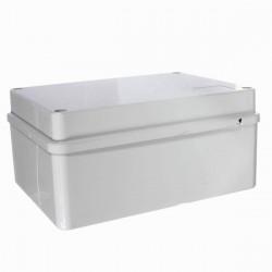 Vattentät Junction Box PVC Anpassningsbar IP65 Utomhus Område