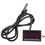 -55 to 125 Degree Red LED Digital Temperature Meter Sensor Professional Instruments & Tools