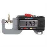 0-12.7mm Digital Tykkelsesmåler Meter Tester Micrometer Instrument & Værktøj