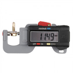 0-12.7mm Digital Tykkelsesmåler Meter Tester Micrometer