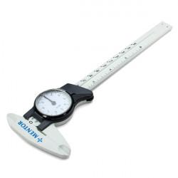 0-150mm Vernier Caliper Gauge Måling med Dial Millimeter Tykkelse Meter