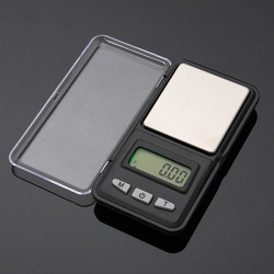 0.01g 200g Pocket Digital LCD Weighing Scale Balance Steelyard