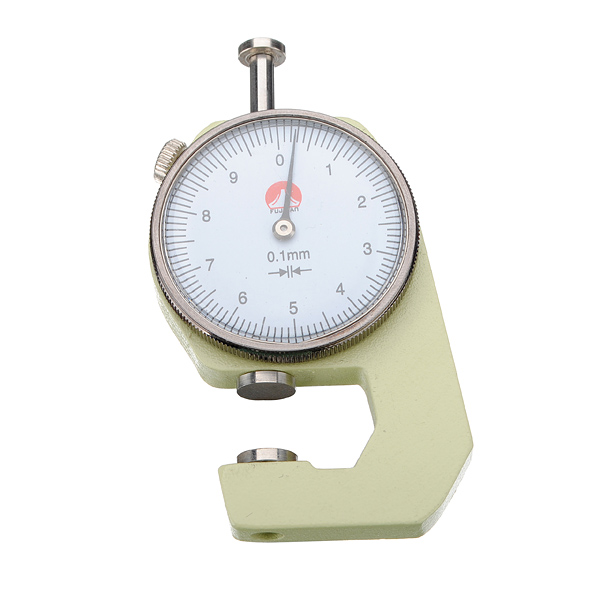 0 to 10x0.1mm Round Dial Thickness Gauge Measurement Tool Professional Instruments & Tools