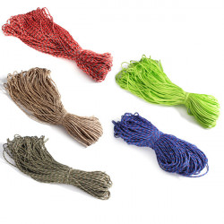 100M Roll Multifunktionel 4mm Strands Parachute Lanyard Rope